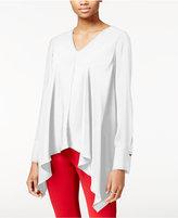 Rachel Roy Draped Asymmetrical Top, Only at Macy's