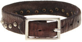 Tommy Bahama Wide Rivet Leather Bracelet