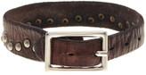 Tommy Bahama Wide Rivet Leather Bracelet