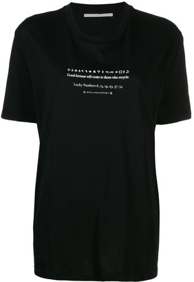 Stella McCartney Fortunate Cookie T-shirt