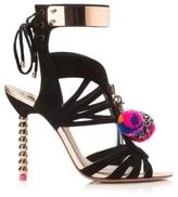 Sophia Webster Yasmina Pom Pom High Sandal
