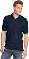 Club Room Classic-Fit Short Sleeve Solid Estate Performance UPF 50+ Polo, Only at Macy's