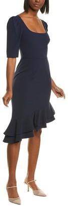 Black Halo Evelyn Sheath Dress