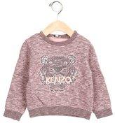 Kenzo Girls' Embroidered Pullover Sweatshirt