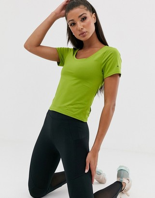ASOS 4505 T-shirt with Bow back detail