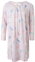 John Lewis Children's Woodlands All-Over Print Night Dress, Pink
