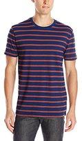 Lucky Brand Men's Bold Stripe Indigo T-Shirt