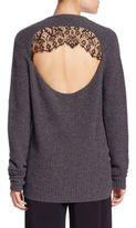 A.L.C. Peter Wool & Cashmere Cutout Sweater