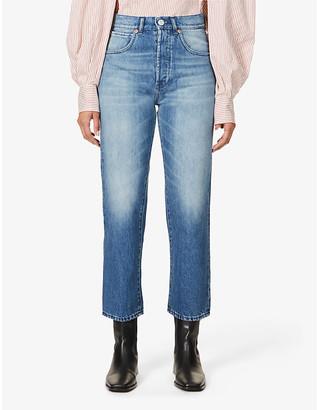 3x1 Sabina Girlfriend straight-leg mid-rise jeans