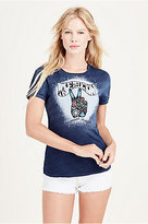 True Religion Graphic Indigo Womens Tee