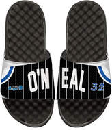 ISlide NBA Retro Legends Shaquille O'Neal 32 Jersey Slide Sandal, White