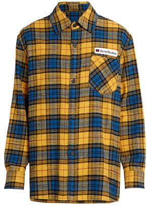 Acne Studios Salak Flannel Shirt