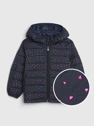 Gap Toddler Upcycled Lightweight Puffer Jacket
