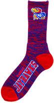For Bare Feet Kansas Jayhawks RMC 504 Crew Socks