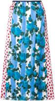 Marni high waisted patterned skirt