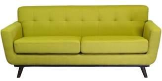 """Joseph Allen Retro 76"""" Pillow Top Arms Sofa Upholstery: Green"""