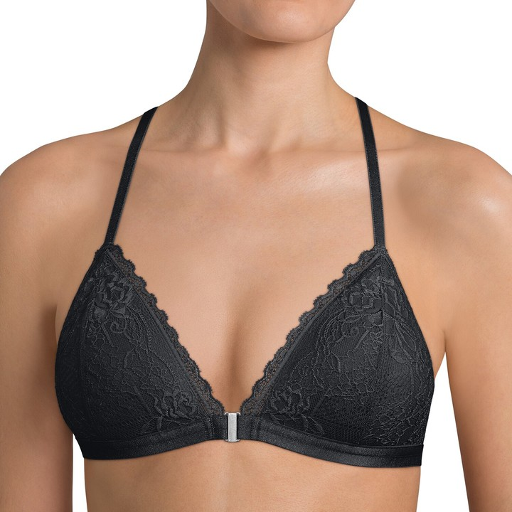2776027a872 No Padding Lace Bra Front Closure - ShopStyle