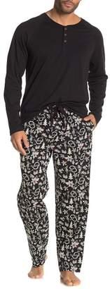 Tommy Bahama Hula Holiday Henley Pajama Set