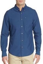 Madison Supply Regular-Fit Mini Dobby Sport Shirt