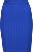 Alexander Wang Ribbed stretch-jersey mini skirt