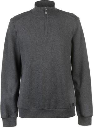 Armani Exchange Logo Zip Hooded Sweatshirt