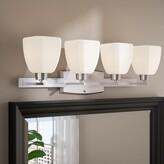 Bronx Ellenberger 4-Light Vanity Light Ivy Finish: Brushed Satin Nickel