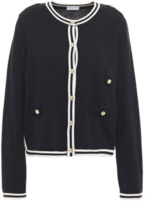 Claudie Pierlot Striped Knitted Cardigan