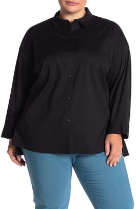 Lafayette 148 New York Felicity Blouse (Plus Size)