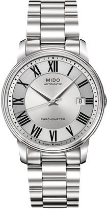 MIDO Men's Baroncelli Swiss Automatic Bracelet Watch, 39mm