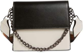 Knotty Two-Tone Chain Handle Crossbody Bag