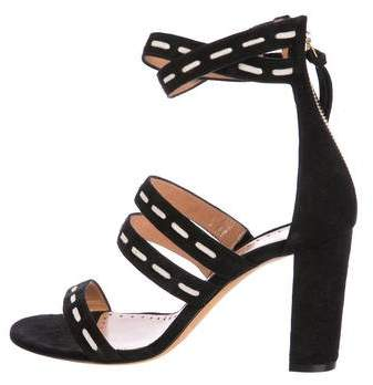 Alexa Wagner Betsy Suede Sandals