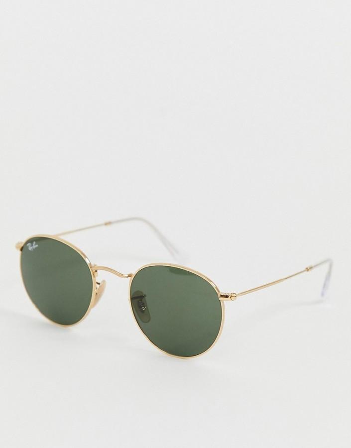 Ray-Ban round metal sunglasses 0rb3447