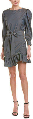 Isabel Marant Ruffled Wool Mini Dress