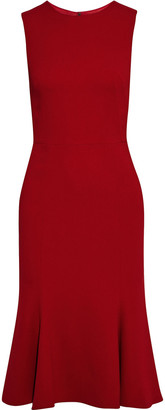 Dolce & Gabbana Fluted Stretch-crepe Dress
