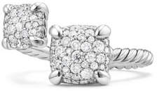 David Yurman Châtelaine Pave Diamond Bypass Ring