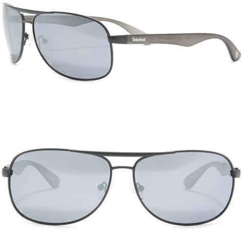Timberland Aviator 63mm Sunglasses