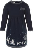 Monsoon Baby Woodland Knit Dress