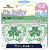 Michaelson Entertainment Pacifier, Irish Baby, 2 Count by Michaelson Entertainment