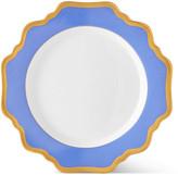 Anna Weatherley Indigo Rimmed Salad Plate