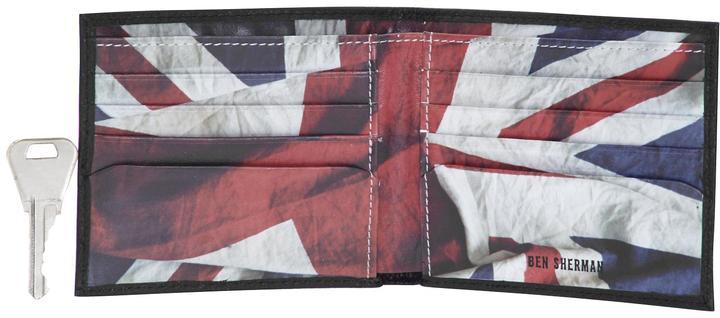 Ben Sherman Digital Flag Print Wallet