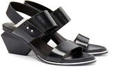 United Nude Leona Mid Black Sandals