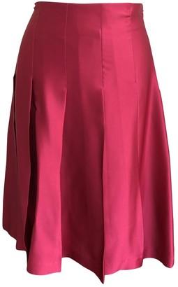 Toast Pink Silk Skirts