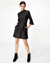 Nicole Miller Zig Zag Dress