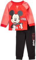 Children's Apparel Network Mickey Mouse Raglan Pullover & Joggers - Toddler