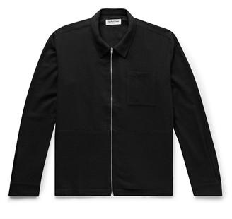 YMC Bowie Woven Zip-Through Cardigan