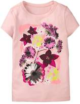 Crazy 8 Sparkle Flowers Tee