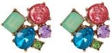 Betsey Johnson Cluster Stud Earrings