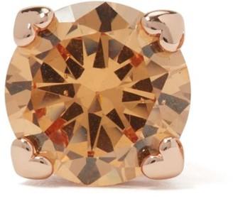 Kate Spade Goldtone & Cubic Zirconia Heart Stud Earrings