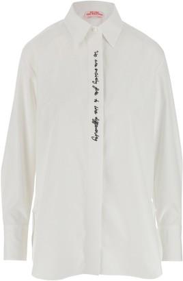 Stella McCartney We Are The Weather Slogan Print Shirt
