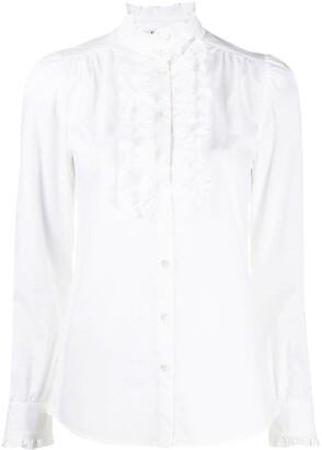 P.A.R.O.S.H. Frill Collar Shirt